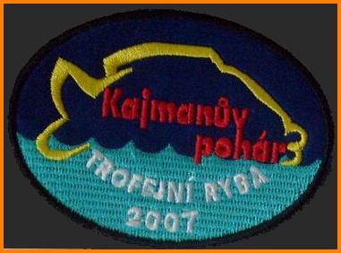 Kajmanův pohár 1 místo trofejní kapr 109cm